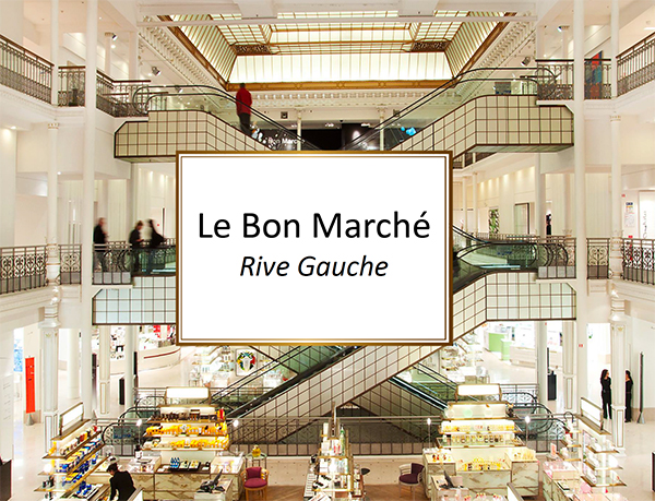 Extroverso at Le Bon Marche Rive Gauche of Paris