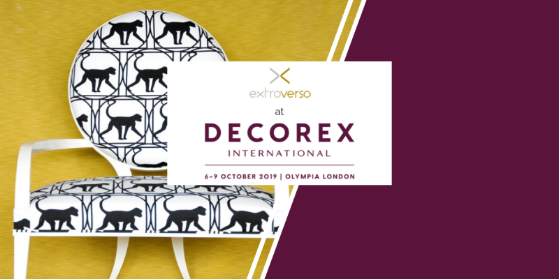 Decorex International, October 6th to 9th – London